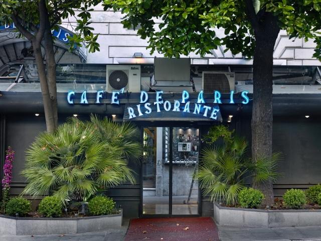 Cafè de Paris, Via Veneto, Rome, 2013