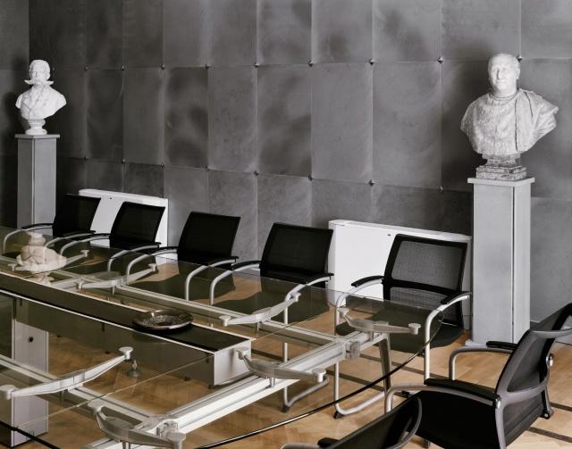 Sitzungssaal des Gemeinderats von Marcianise, Provinz Caserta, 2008