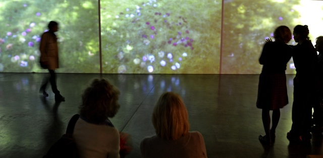 Impressionistische Landvermessungen, 2015 (Dreikanal-Projektion)