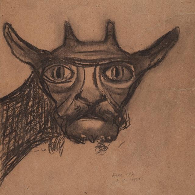 Anonym (Fall 497), Teufelsziege, um 1926 oder früher, Inv. Nr. 4995