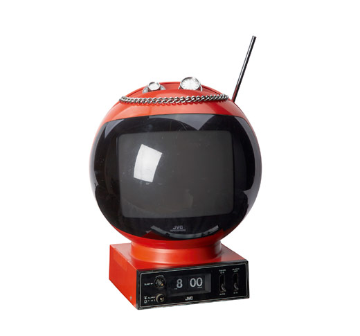 Radio-Fernseher-JVC