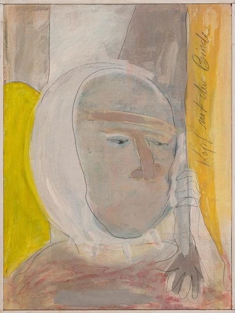 Laurie Berner, Kopf mit der Binde, undatiert