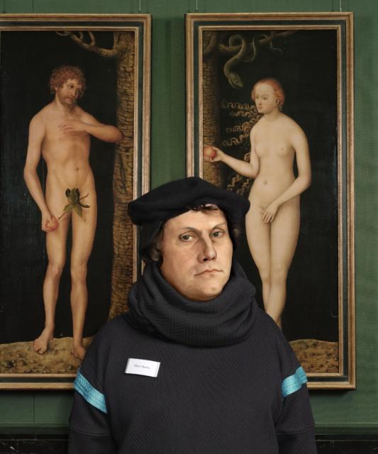 Dorothee Golz Herr Martin, 2015/16 C-Print, Diasec,