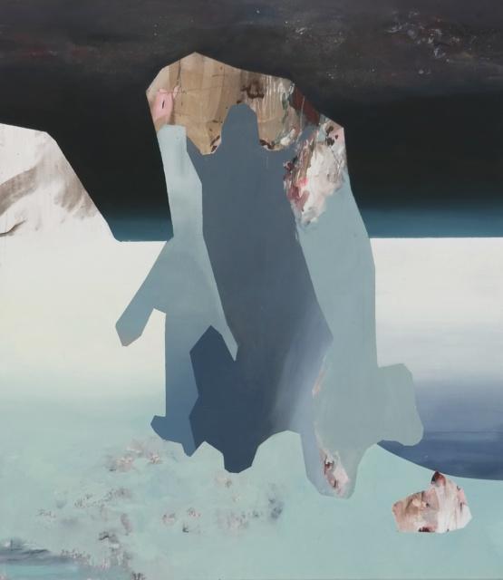 Judith Grassl, DGG 4, 2015, Acryl auf Leinwand, 170 x 150 cm