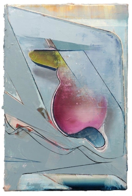 Christian Hellmich, Graceland, 2014, Öl auf Leinwand, 40 x 25 cm