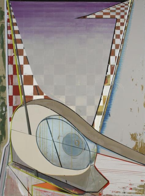 Christian Hellmich, Trainie, 2008, Öl auf Leinwand, 204 x 151 cm