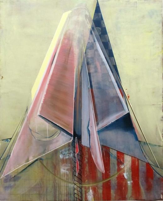 Christian Hellmich, Versailles, 2013, Öl auf Leinwand, 150 x 120 cm