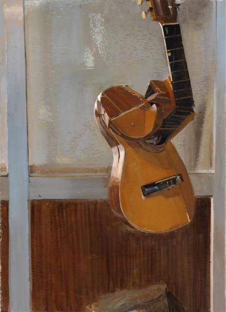 Pere Llobera, Untitled, 2016, Öl auf Leinwand, 72 x 52 cm