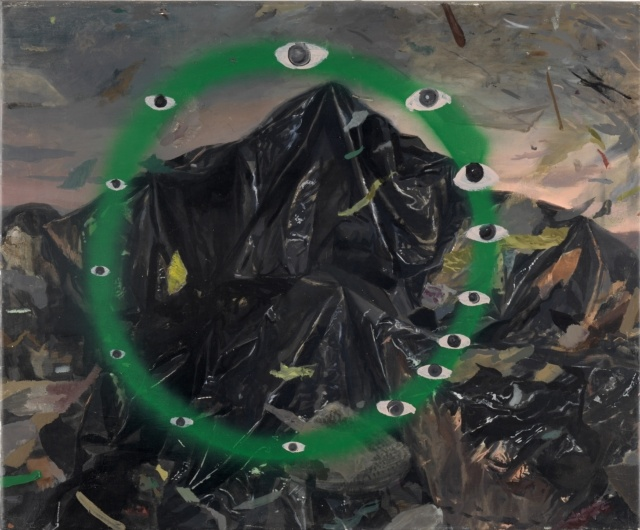 Pere Llobera, Yinx, 2016, Öl auf Leinwand, 61 x 74 cm