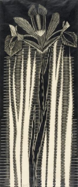 Samuel Jessurun de Mesquita, Iris, 1920/21, Holzschnitt