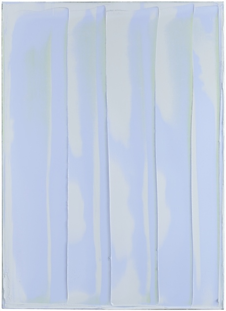Peter Krauskopf, BLAUGRAU Z, B161117, 2017, Öl auf Leinwand, 140 x 100 cm