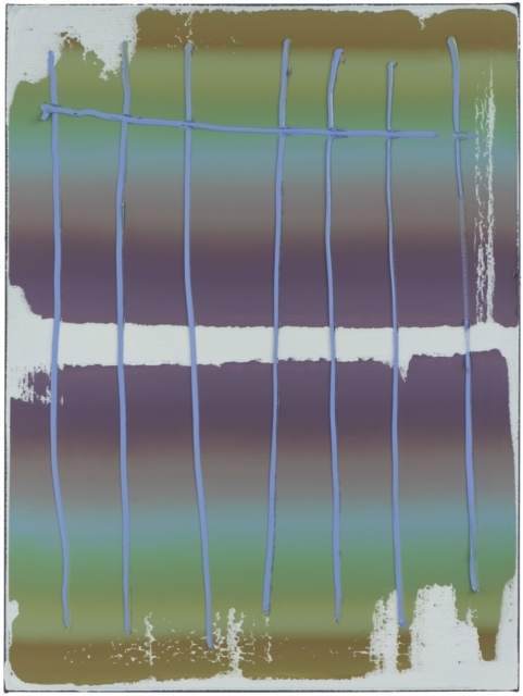 Peter Krauskopf, KEIN TITEL, B 290218, 2018, Öl auf Leinwand, 120 x 90 cm