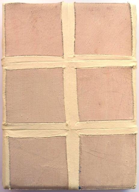 Raphael Samay, außen, 2018, Öl auf Nessel, 13,5 x 18,5 cm