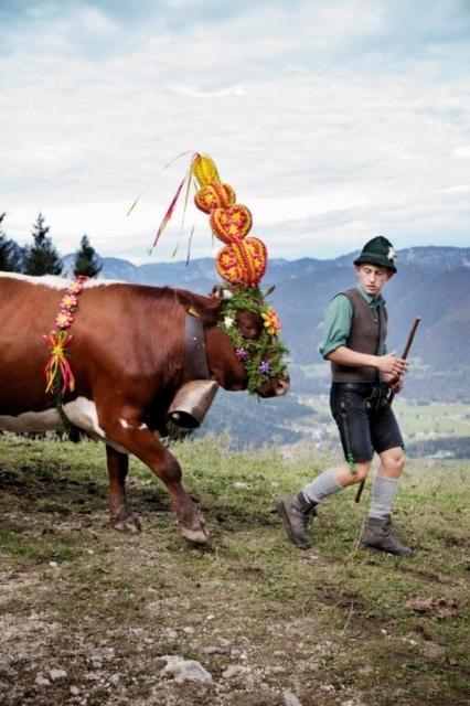 Gregor Hohenberg, Berchtesgadener Tracht, Fotografie, 2015