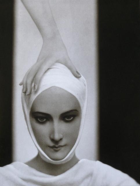 Adolphe de Meyer, Werbung Elisabeth Arden, um 1925, Ferrotypie,