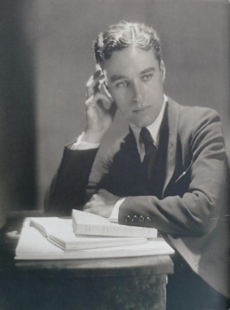 Adolphe de Meyer, Charles Chaplin, 1921, Platindruck,