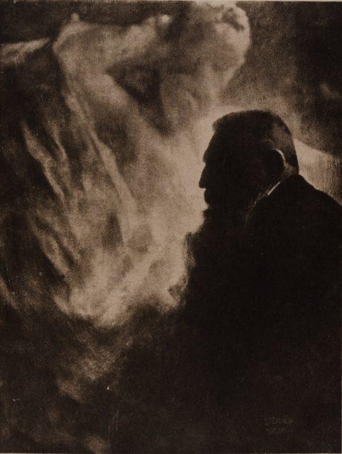 Edward Steichen, Rodin, 1902, Heliogravüre