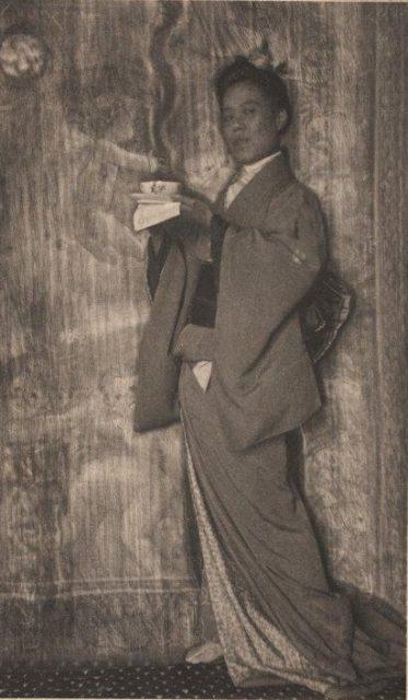 Frank Eugene, Taka, vor 1908, Platindruck,