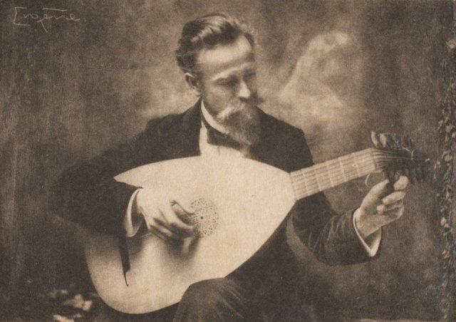 Frank Eugene, Heinrich Scherrer, um 1910, Heliogravüre,