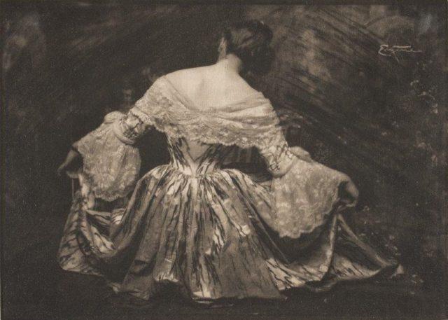 Frank Eugene, Menuett, um 1900, Heliogravüre,