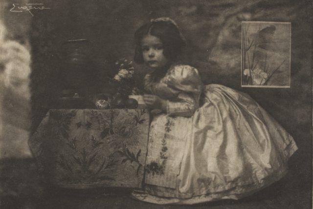 Frank Eugene, Brigitta Wenz, um 1908, Heliogravüre,