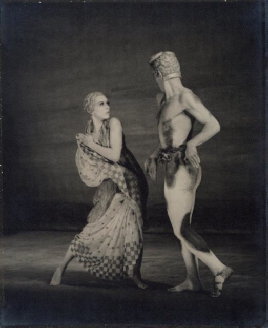 Adolphe de Meyer, The dancer Vaslav Nijinsky and dance partner in