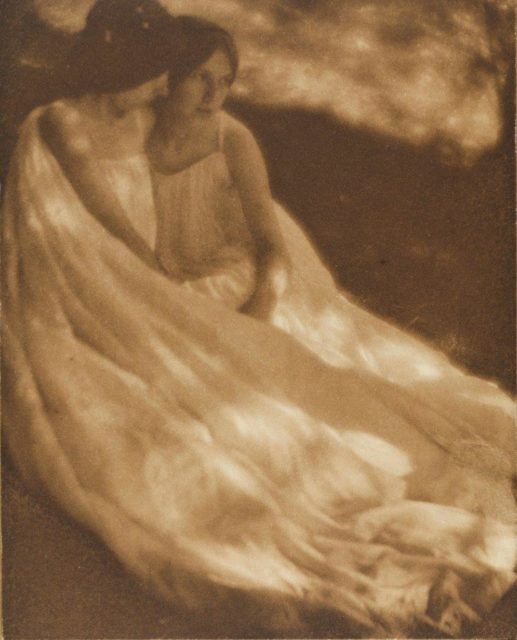 George Seeley, The Burning of Rome, 1906, Heliogravüre, publiziert in Camera Work,