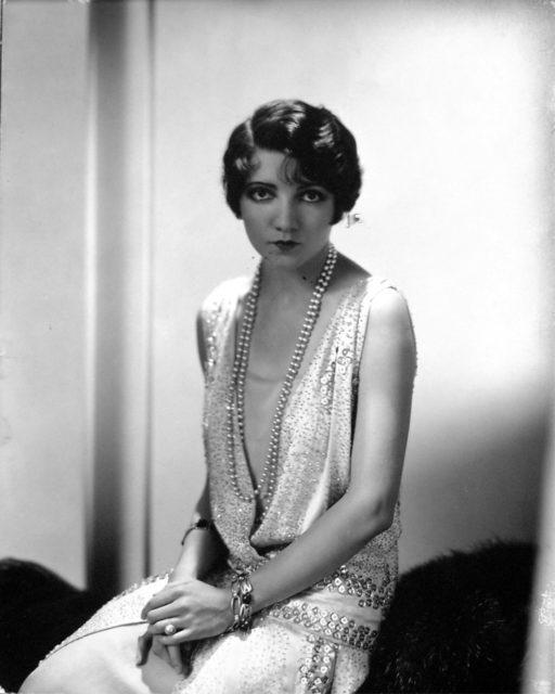 Edward Steichen, Claudette Colbert, 1929, Silbergelatineabzug,