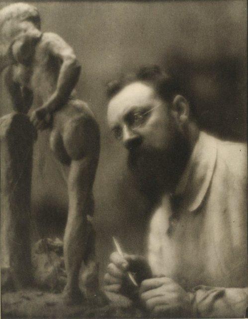 Edward Steichen, Henri Matisse, 1913, Heliogravüre,