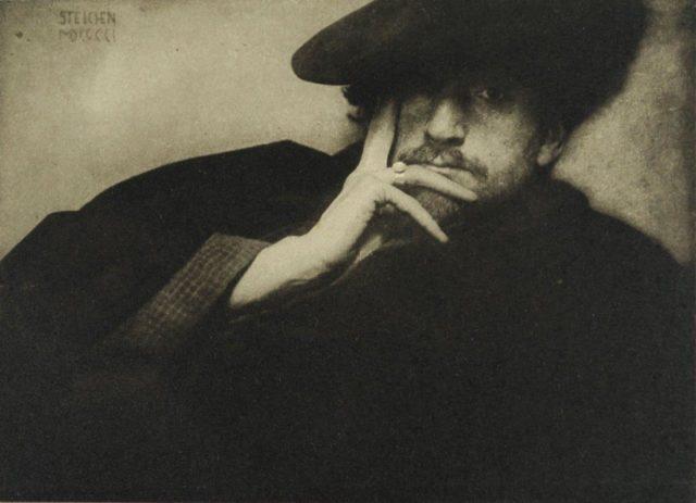Edward Steichen, Solitude, 1901, Heliogravüre, publiziert in Camera Work 1906,