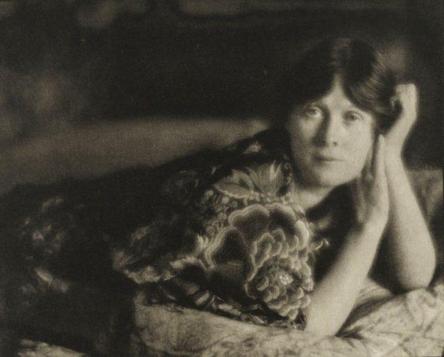 Edward Steichen, Isadora Duncan, 1905, Heliogravüre, publiziert in Camera Work 1913,