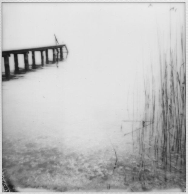 Jette Hampe, Auflösung III/344, Polaroid, 2019