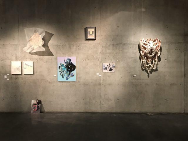 Ausstellungsansicht / Raumaufnahme BLICK FANG 2020 @ Kunsthaus Kaufbeuren