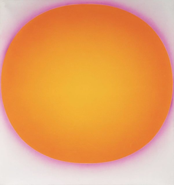 Rupprecht Geiger, Ohne Titel (666/73), 1973, Acryl auf Leinwand, 150 x 140 cm,