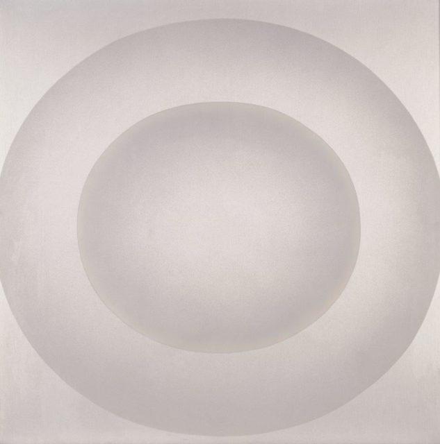 Rupprecht Geiger, Ohne Titel (687/74), 1974, Acryl auf Leinwand, 125 x 125 cm,