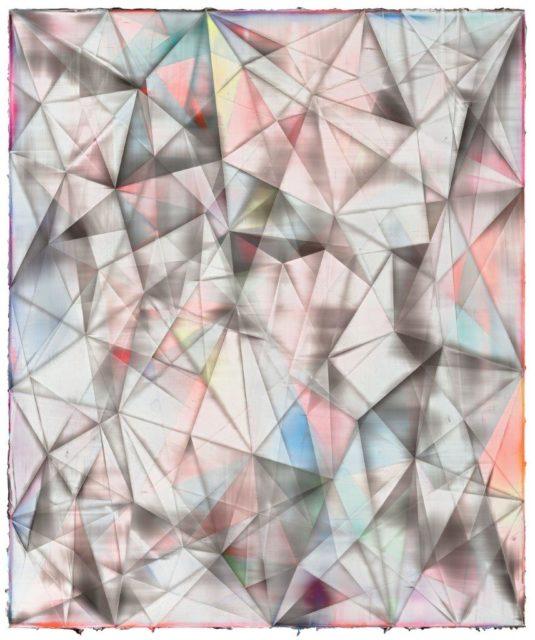 Shannon Finley, Whisper, 2016, Acryl auf Leinwand, 240 x 200 cm,