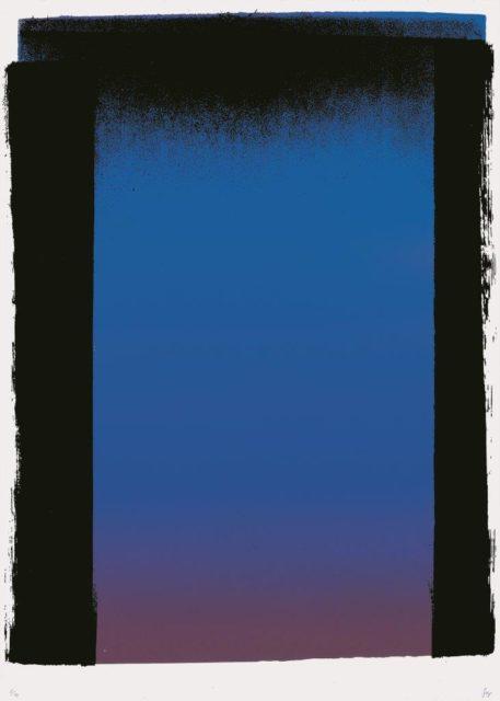Rupprecht Geiger, AER 44/1, 1962, Serigrafie, 59,5 x 42,5 cm,